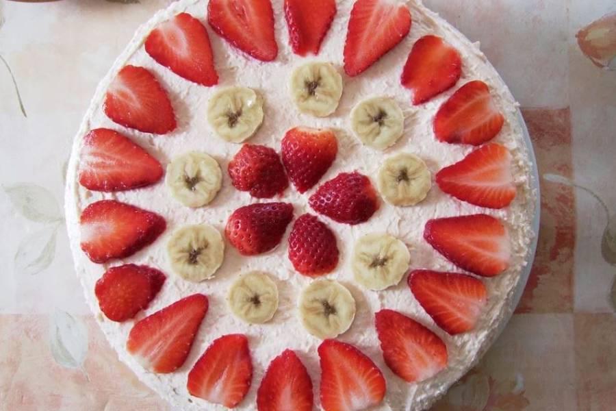 デザートに適したいちごのケーキ