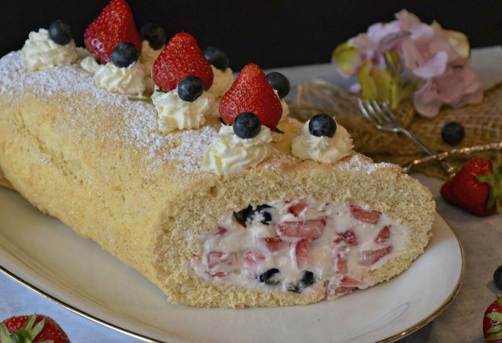 発祥から愛されているロールケーキ