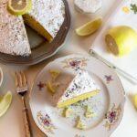レモンケーキ カット