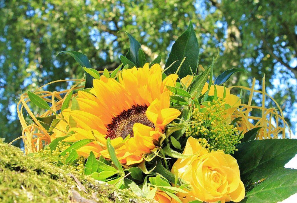 黄色い花束